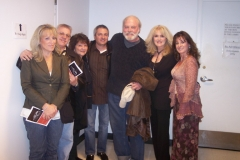 At Stacy Keach's play KING LEAR at the GOODMAN THEATRE with Barb Amari, Vince Amari, Rosalie Amari, Carl, Stacy Keach, Carlene Amari-Roy and Michelle Amari