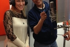 Lisa and H360 Executive Producer Mike Gastala