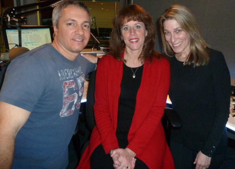 Carl, Kay Eller and Lisa Wolf