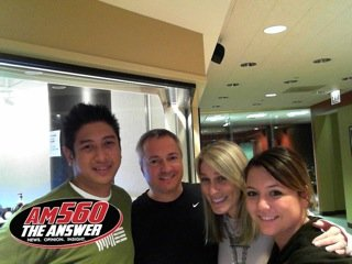 Mike Gastala, Carl, Lisa and Melissa Michalak