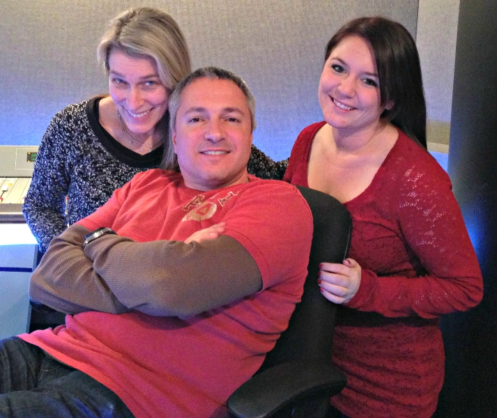 Lisa, Carl and Melissa Michalak