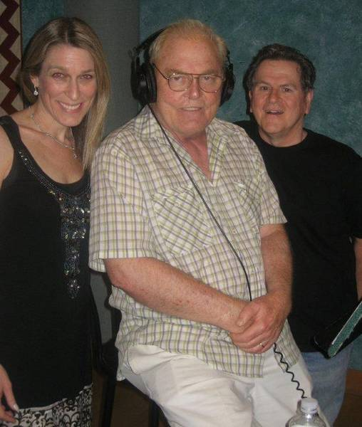 Lisa, Stacy Keach and Chicago's own Tim Kazurinski